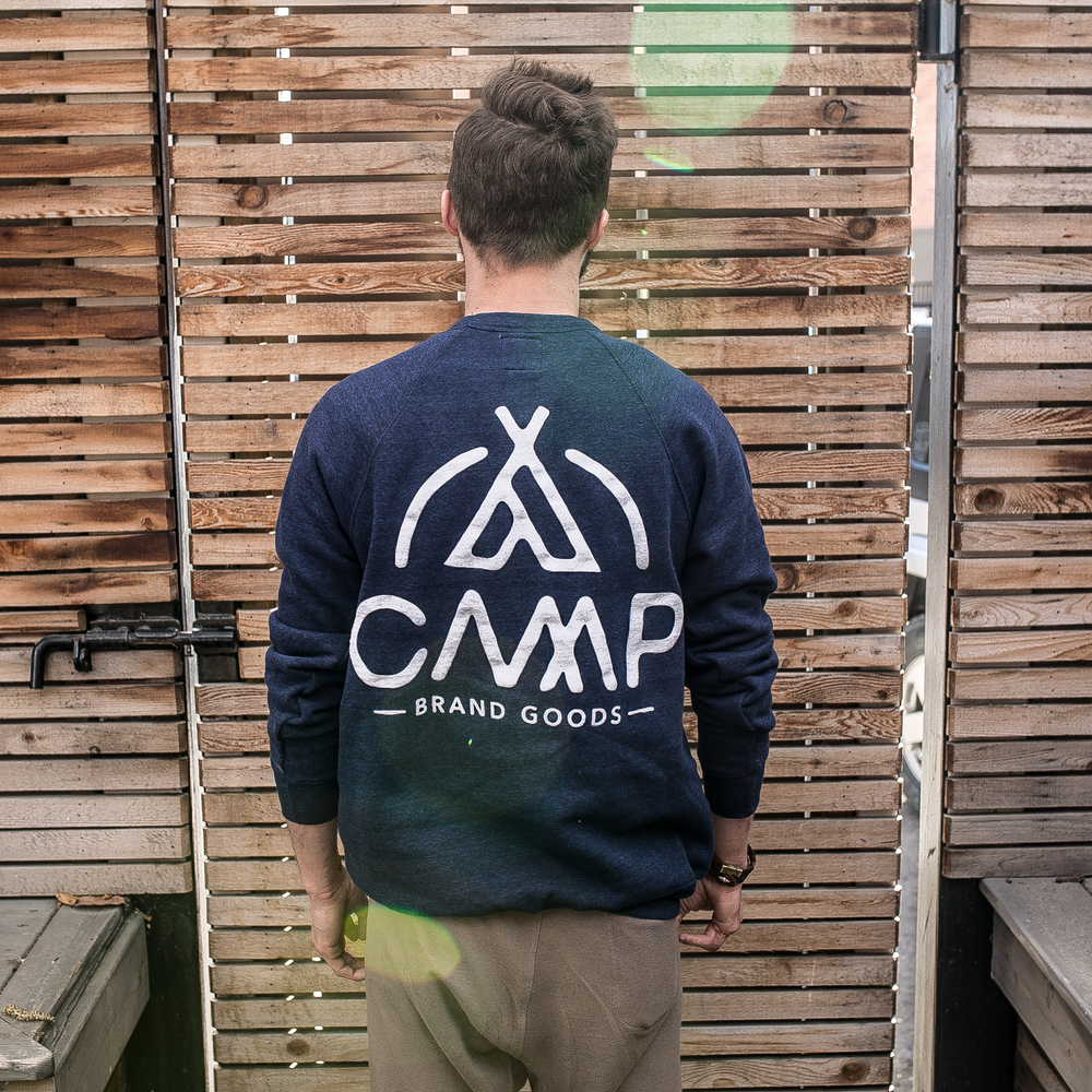 Last to try was one of the new crew neck sweaters from Camp Brand Goods. I only just met these guys at the Collector's Club, but they've been around the Calgary menswear scene for a couple years now. If you've ever tried any of their high quality clothes, you know they're about the most perfect mix of comfort and style you can find. This sweater is certainly no different, and I particularly like the rich and warm shade of blue.   campbrandgoods.com