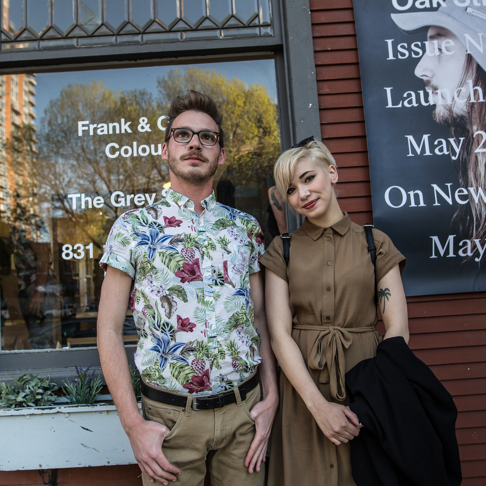 More disciples of Calgary's blossoming fashion culture.