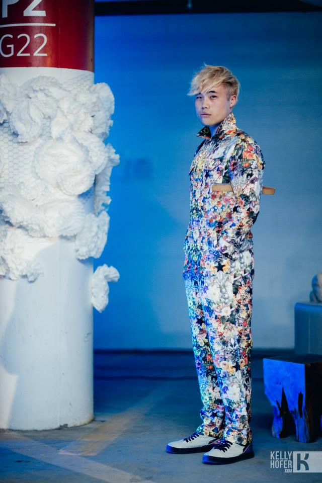 You might remember Vincent from Park Show earlier this summer in this floral suit. photo by  Kellyhofer.com