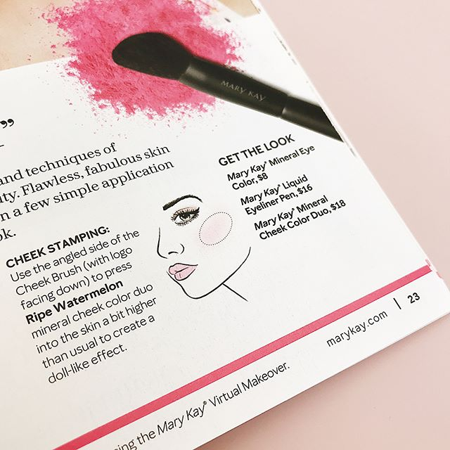 One of my first projects at Mary Kay was to recreate the face chart and eye illustrations. With the help from some great mentors, it is so exciting to see them come to life in the Mary Kay Lookbook! 💕 #marykay #dayjob #marykayillustrations
