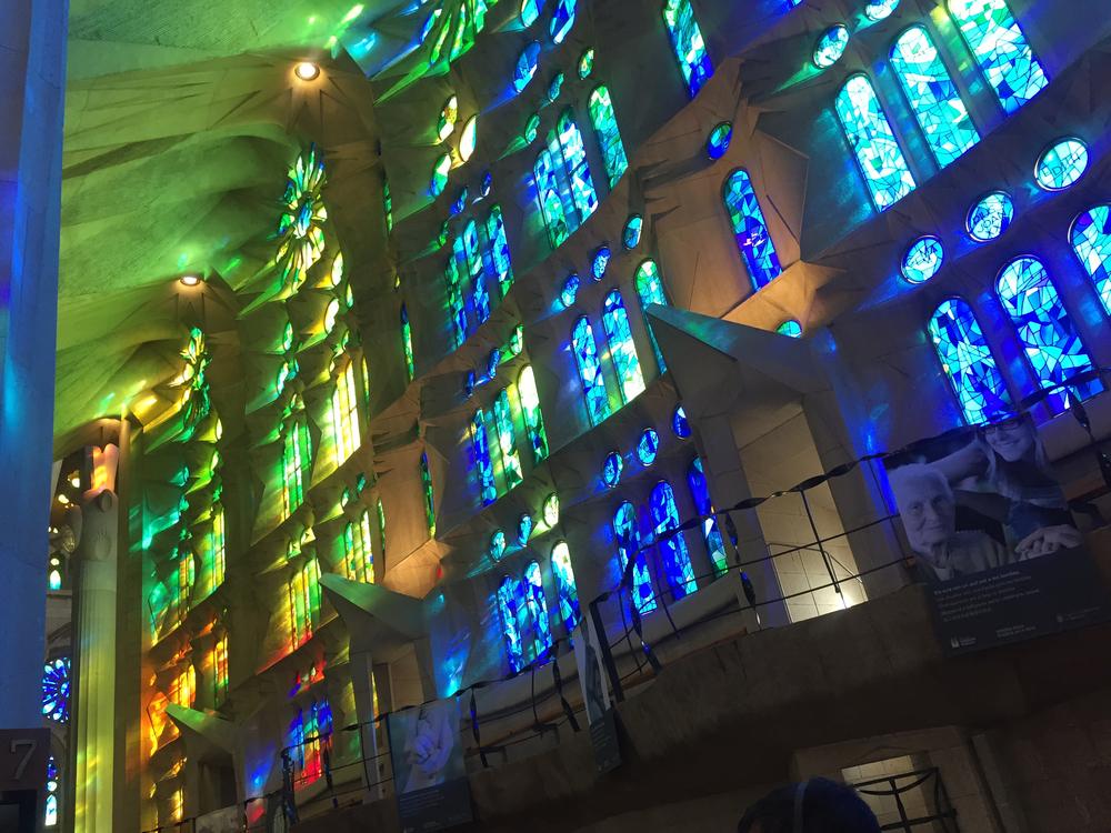 Inside Antoni Gaudi's Sagrada Familia
