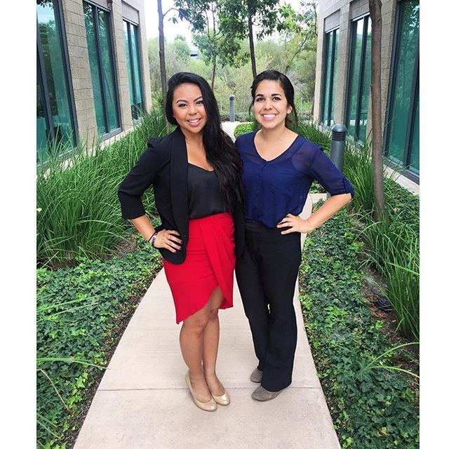 Gabby and Brenda, TAG's Summer 2015 Interns