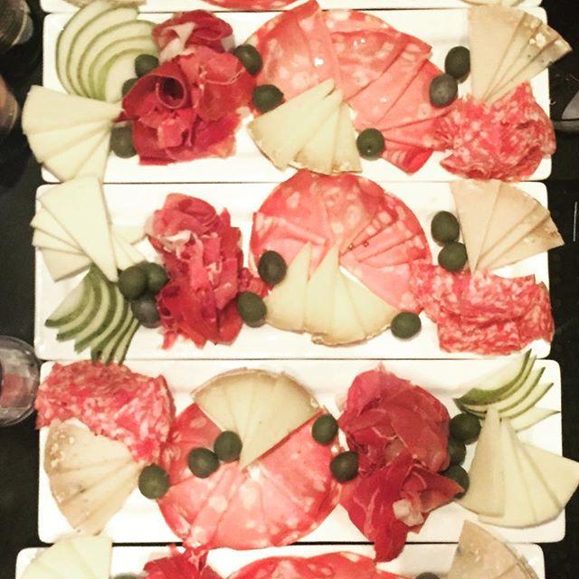 L'antipasto e' servito!!! #italianfood #italianstyle #salumieformaggi #goodfood #Portland #pdx @trattoria_gallo_nero #pnca