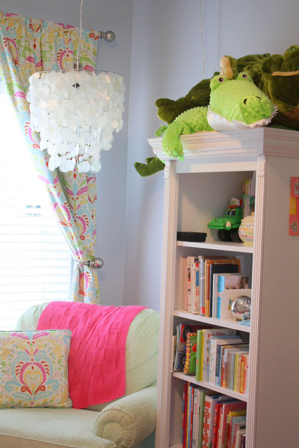 Ponte Vedra Beach, FL Nursery - reading nook