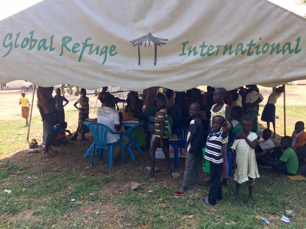 N. Uganda clinic in 2014