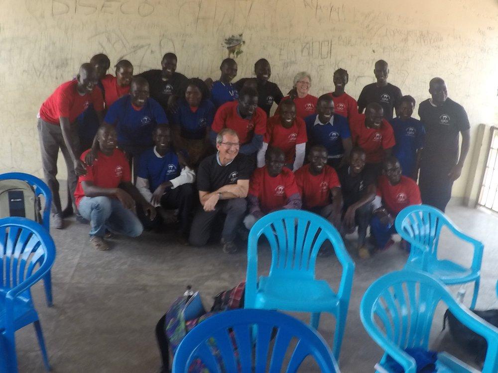 The Odubu Health Center medics, trained March 2019