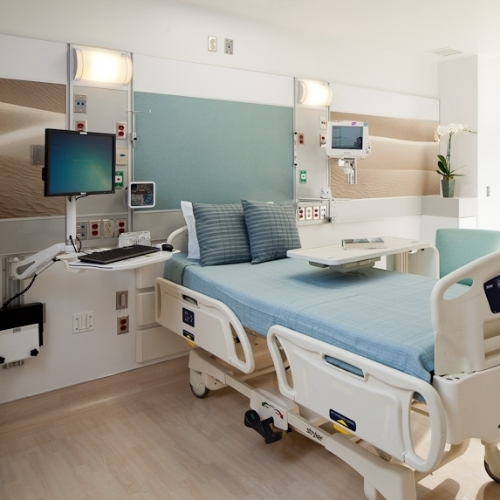 Cedars-Sinai Medical Center   5th Fl Patient Rooms