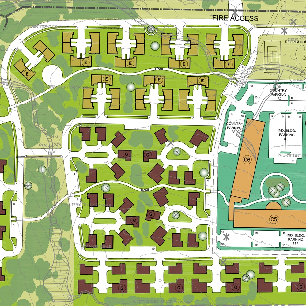 Western Care / Timberline  Masterplan