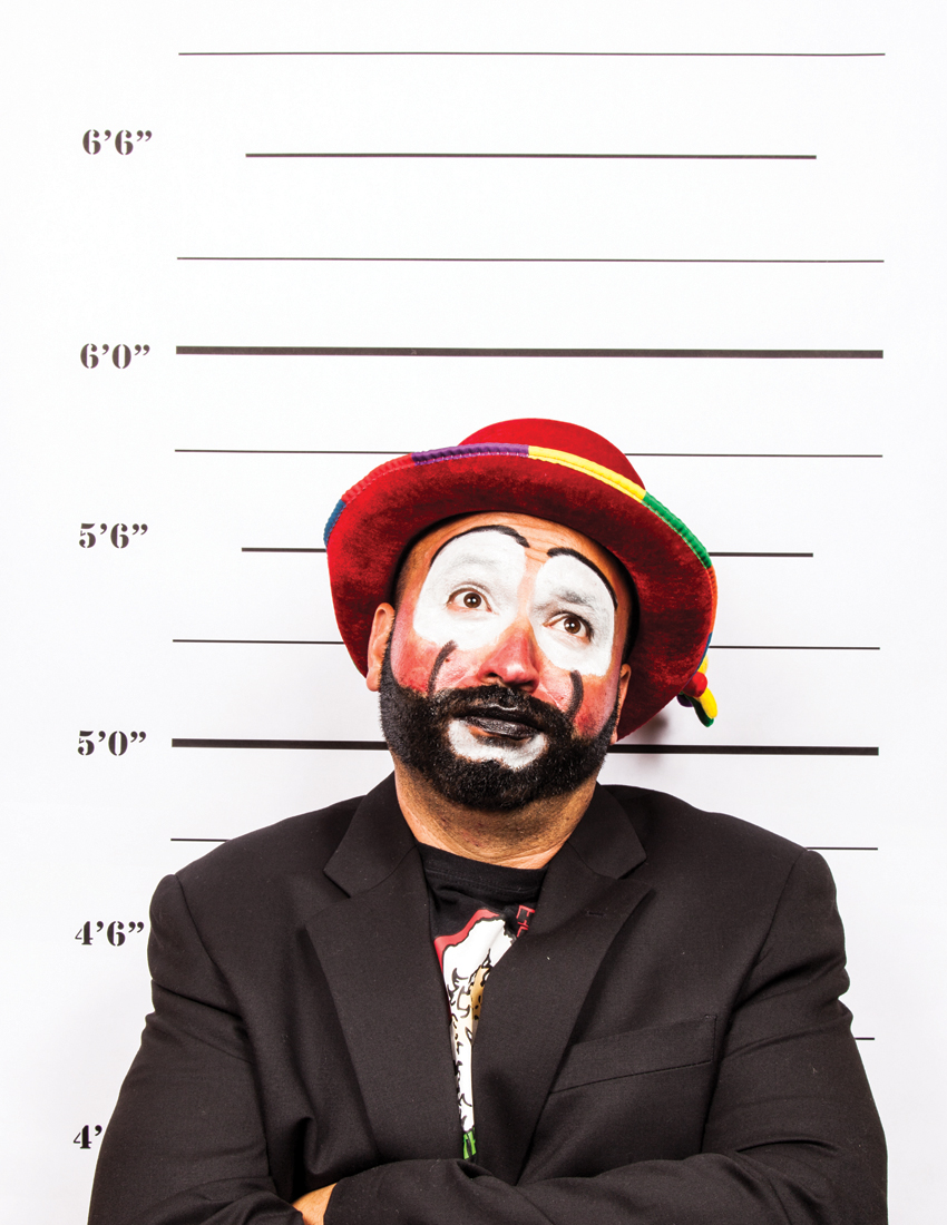 """Robert Del Muro """"It wasn't me… It was the one arm man. Sadly."""""""