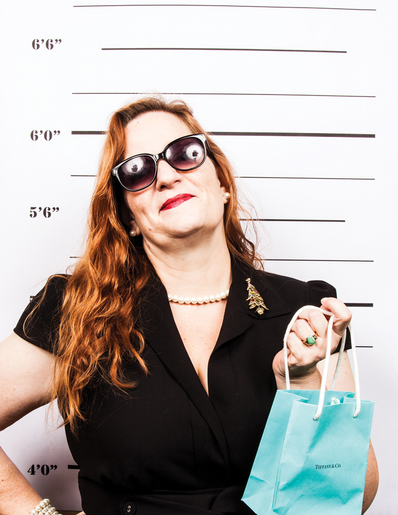 "Amanda Ibbetson   ""I was shopping……at Tiffany's of course ;)"""
