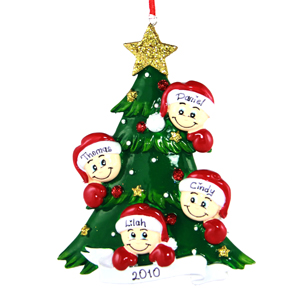 Cindy Ferrer   This ornament is important to me because it was the year my youngest child was born, whom completed the family that I have today.