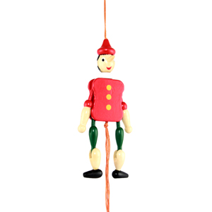 Jeanmarie Zimmerman   Pinocchio cannot tell a lie.   On a memorable day in summer '04,  after my son and I adopted him from Piazza del Mercato, we ate gelato for breakfast, lunch and dinner!