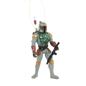 """Robert Del Muro   Since Christmas is my favorite holiday, I decided to turn my favorite Star Wars character into an ornament. """"May the force be with you."""""""