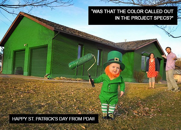 Happy St. Patrick's Day from PDA! #PDA #healthcarearchitects #adayinthelifeofanarchitect #green #stpatricksday #TGIF #weekendgoals