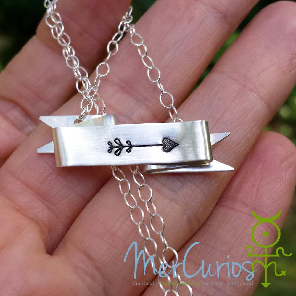 Follow Your Arrow Necklace