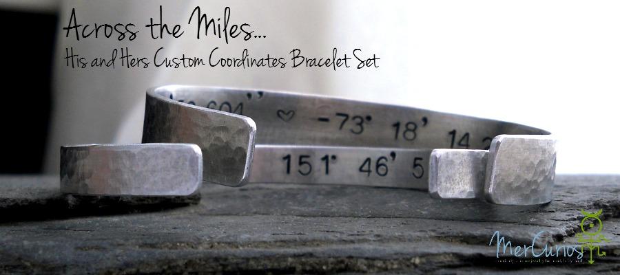 Across the miles bracelet set