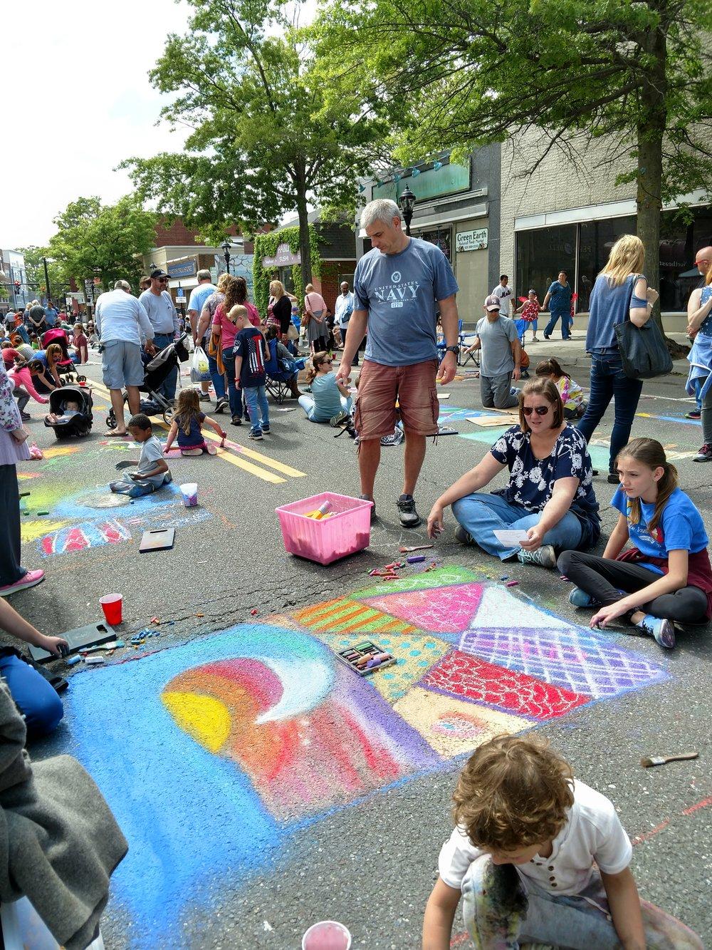Riverhead Community Street Painting Festival