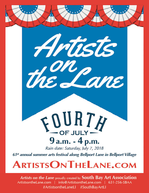 Artists on the Lane Flier
