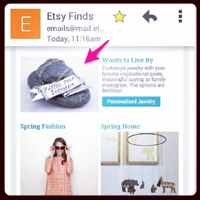 Etsy Finds - Hello, Spring // March 2014