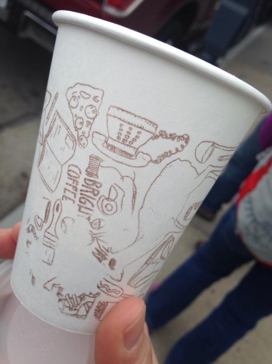 Cute cup design