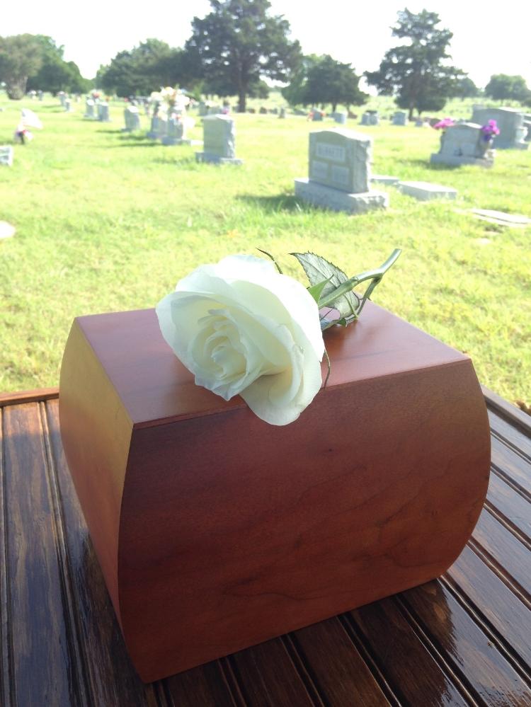 Graveside service of our cherished GiGi (Rosie), Paul's grandma and Ellie's great-grandma
