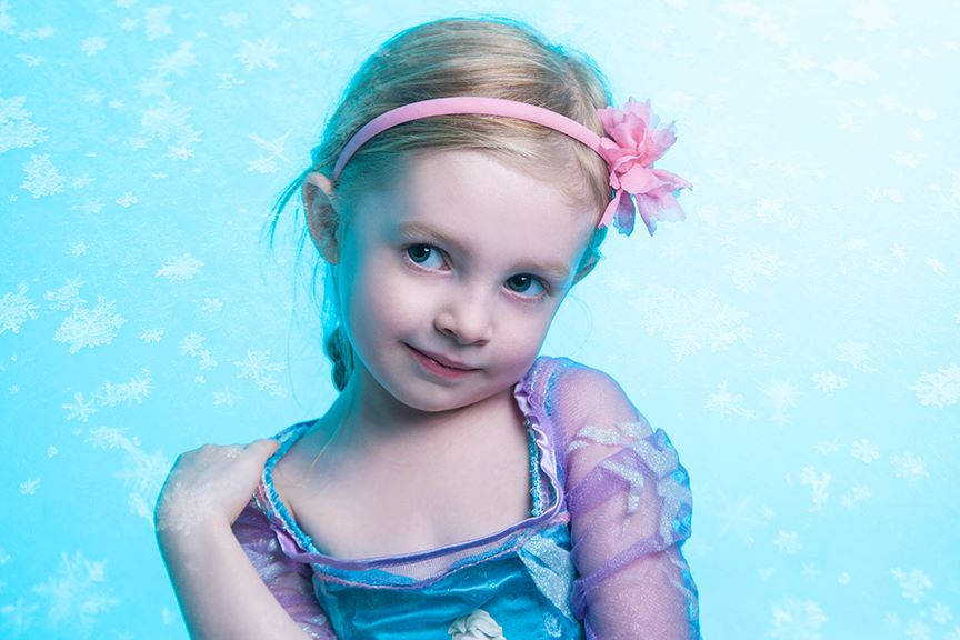 We have lots of little girls dressed as Elsa, so we provide the snow and magic for them!