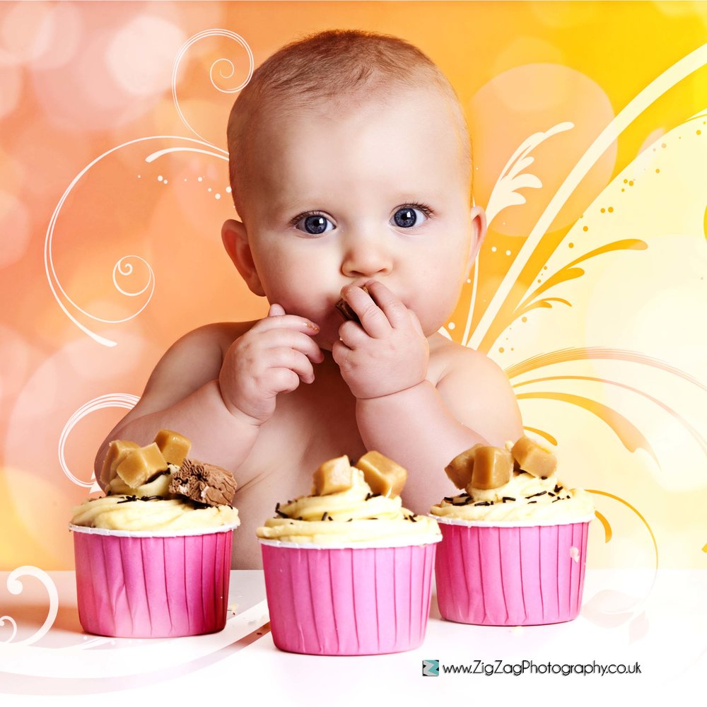 photography-newborn-leicester-studio-cake-smash-baby-newborn-birthday-ideas-first-colour-pink-orange.jpg
