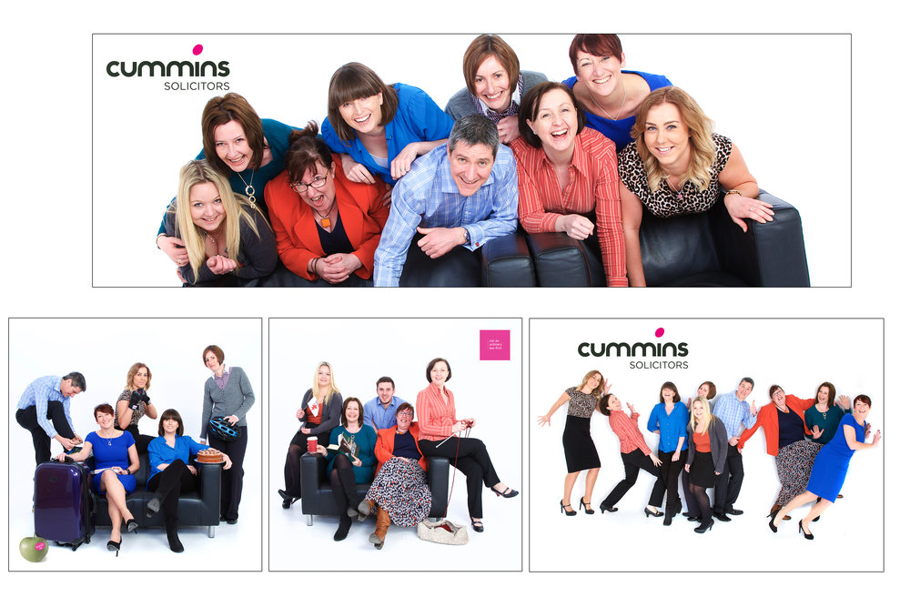 For team photos, why not come and visit us in the studio.  - Not only it is a great team building exercise which is great for building morale but you will also get some great shots to use on your websites or even to decorate your offices.