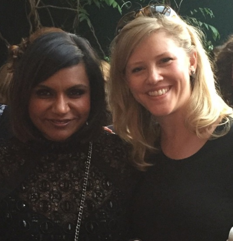 Best friends: Mindy Kaling (!!!!!!) and Mary Laura Philpott