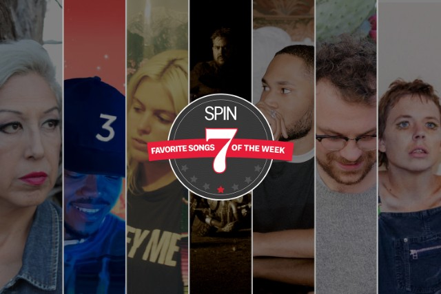 In good company with  Chance the Rapper  and  Kaytranada :)    http://www.spin.com/2016/05/favorite-songs-of-the-week-chance-the-rapper-alice-bag/