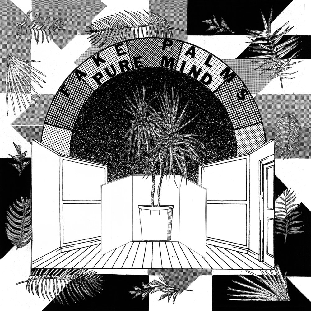 "People are you ready?! After much pomp and circumstance, ""Pure Mind"" by Fake Palms is now live in both online and offline milieus! Head to smarturl.it/PureMindfor links to your favourite retailers, including vinyl via our buds at Pleasence Records."