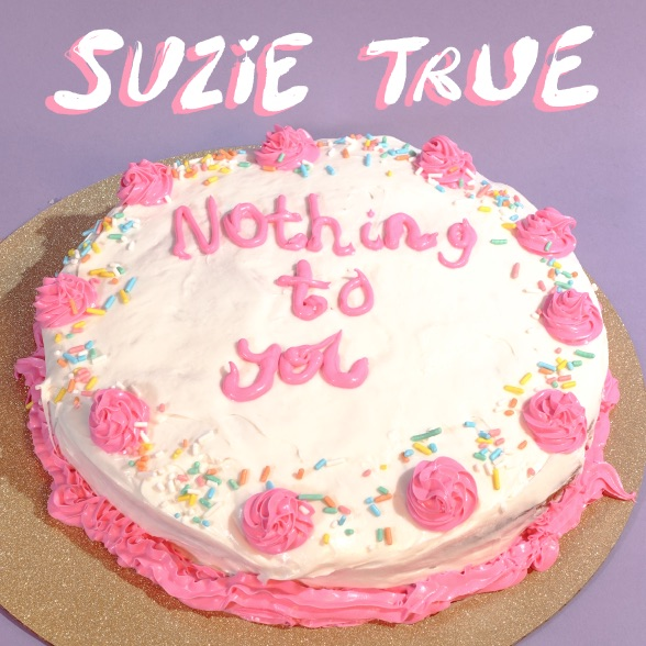 "Happy Suzie True ""Nothing To You"" release day! Their sunny & melancholic EP is now available wherever you consume music - use our handy link to get there  directly . Big love to  The Grey Estates and  earmilk  for all the support!  Consume now at  smarturl.it/  suzietrue"