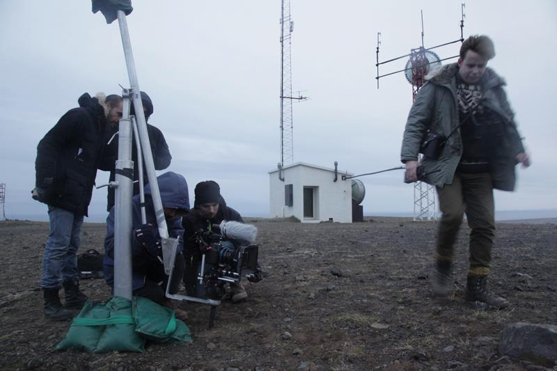 Torr film crew in Iceland