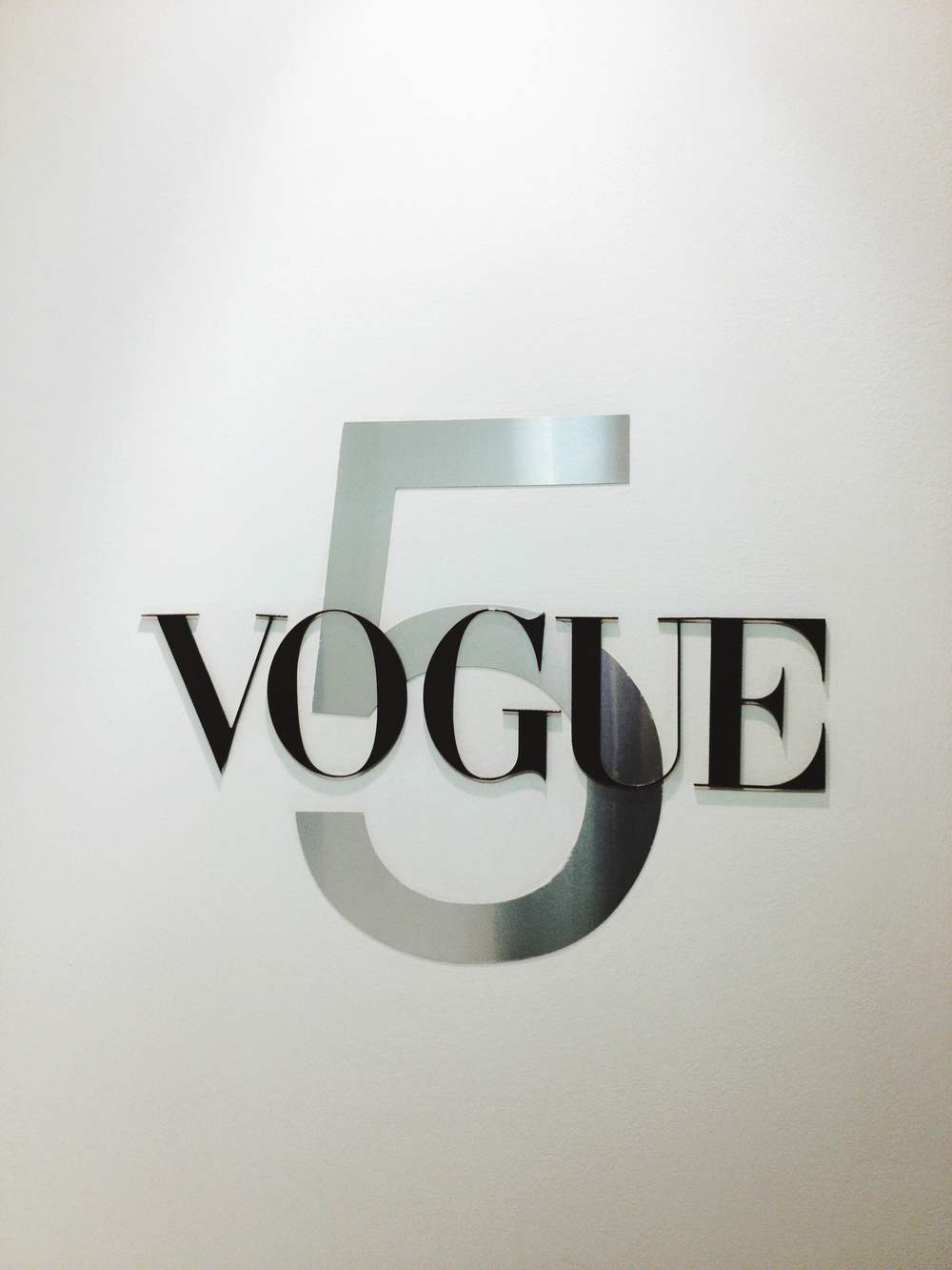 Taken at Vogue UK Offices, right before my interview