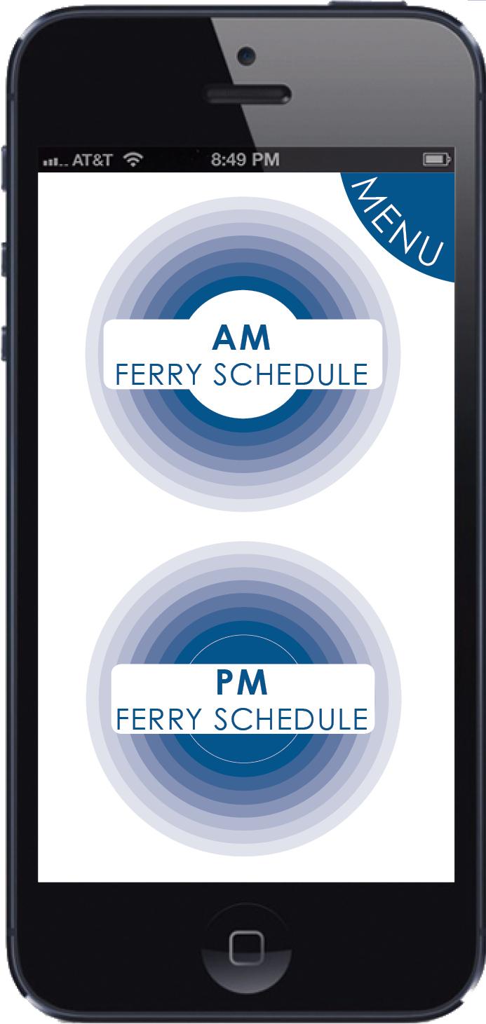 Schedule App - Home