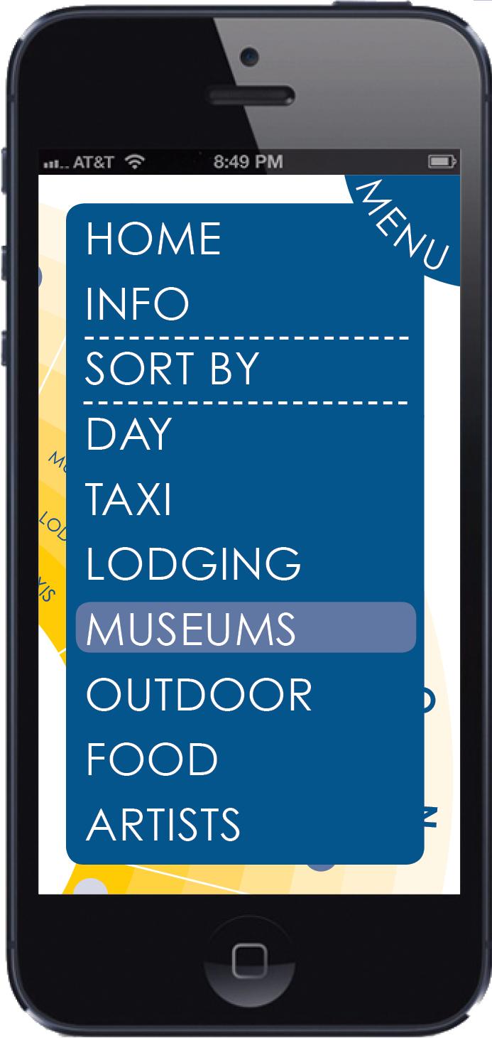 Daily Activities App - Menu