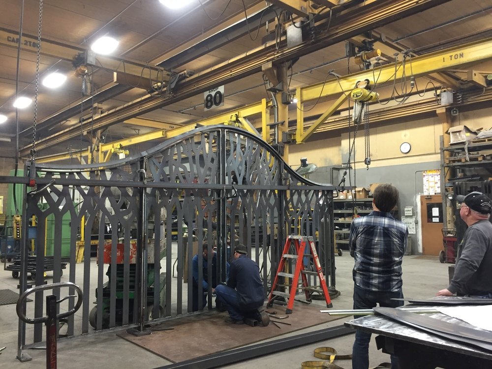 Constructing the Gate