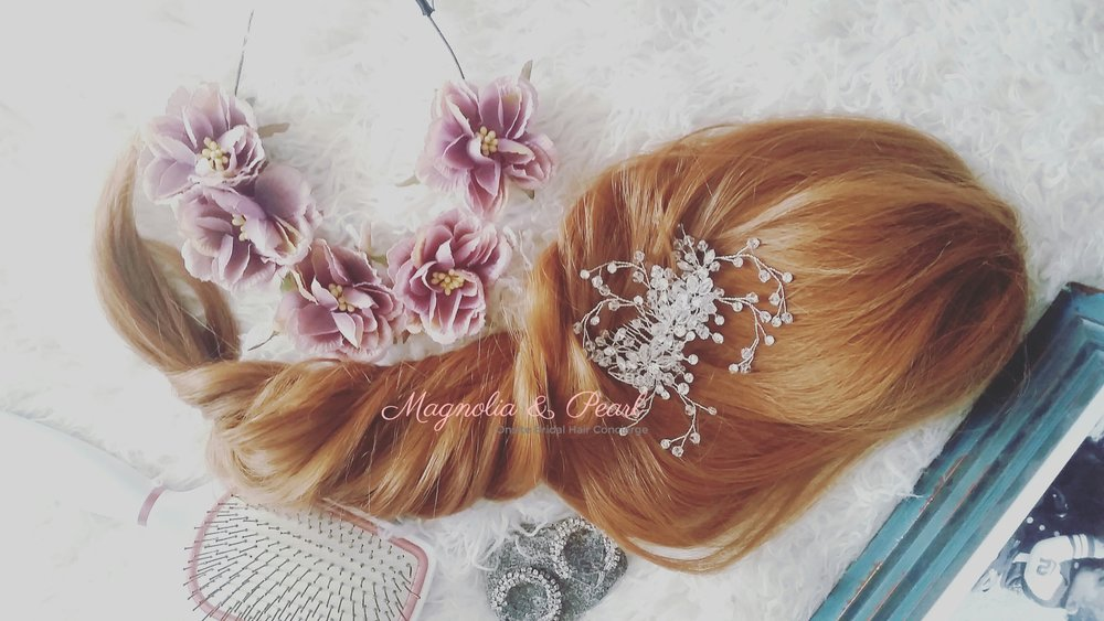 Stunning Hair Jewelry available on the Magnolia & Pearl Online boutique