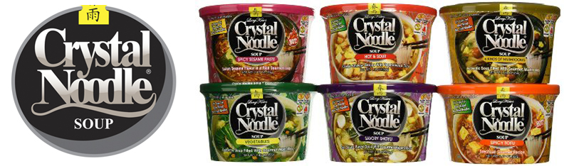 Crystal Noodle - Steeped in homestyle goodness, Crystal noodle's soups are gluten free, no MSG, and have the brands signature 0% trans fat non-fried bean noodles. We carefully freeze dry the soup block and all ingrediants to preserve the warmth of a truly home cooked soup. crystalnoodle.com