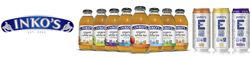 Inko's Tea - It all started in a kitchen in New Jersey while experimenting with different blends of fruit flavors and white tea. A few experiments later - Inko's White Tea was born. People started to quickly hear about Inko's White Tea's superior health benefits and delicious flavors. Soon after, people in nearly every state could find a store near them that carried Inko's. inkostea.com