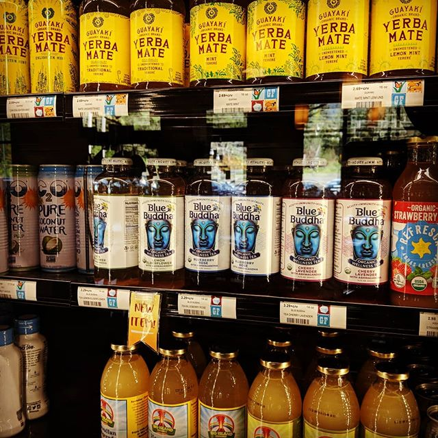 Mill Valley People check out Blue Buddha @ Good Earth! Amazing new placement!  #goodearthnaturalfoods #bluebuddha108