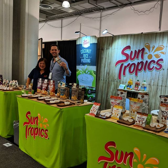 #SunTropics at the NYC #FancyFoodShow