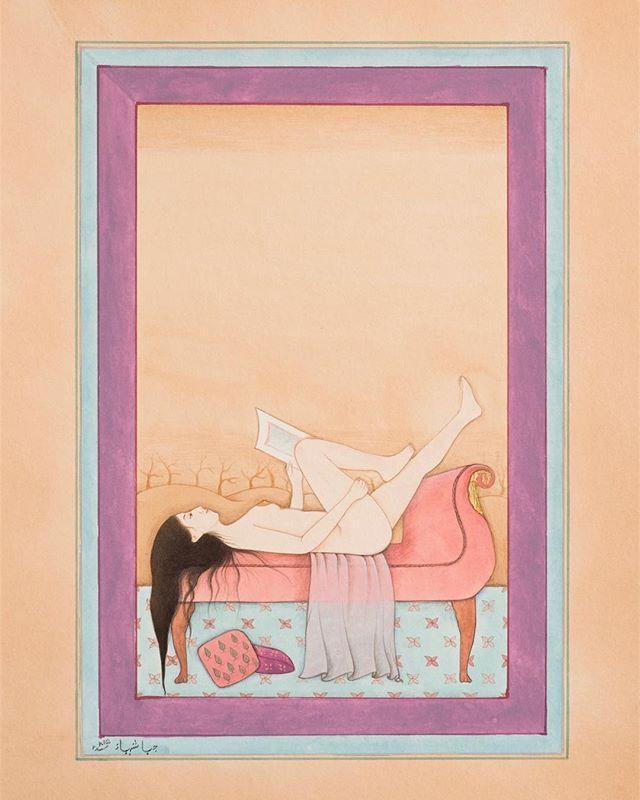 Summer Studio 🌷 at NIU Art Museum curated by @nirmal.raja opens March 29  #paintings #studio #watercolor #gouache #paper
