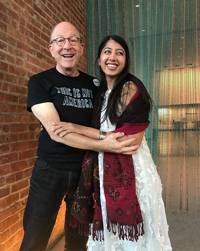 Congrats on your Pulitzer win @jerrysaltz may all your dreams come true ❤️ #hero