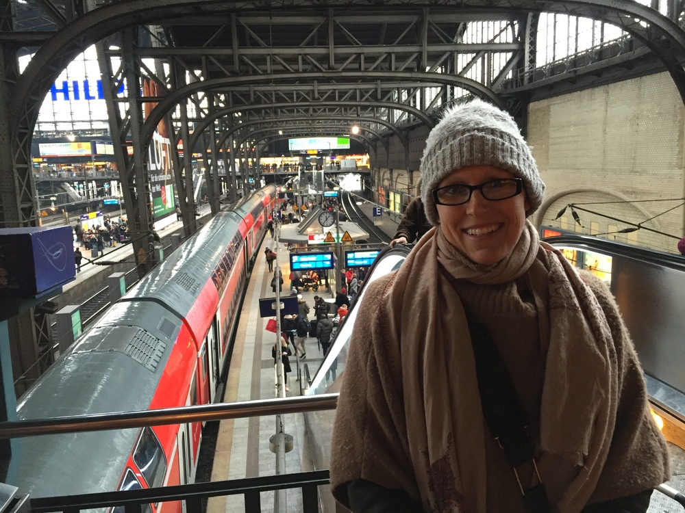 Cold at Hamburg Station