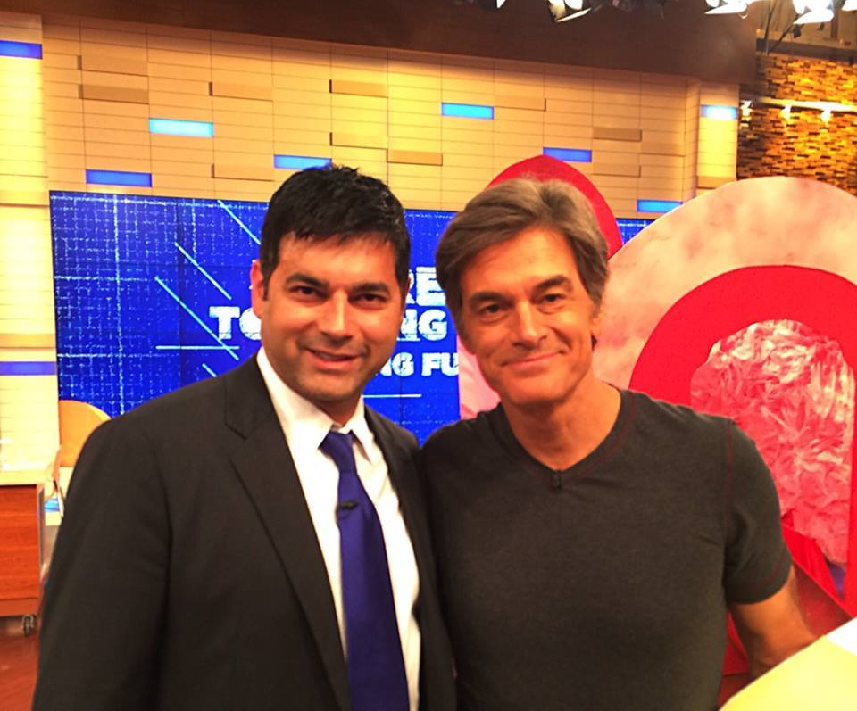 Reef and Dr. Oz