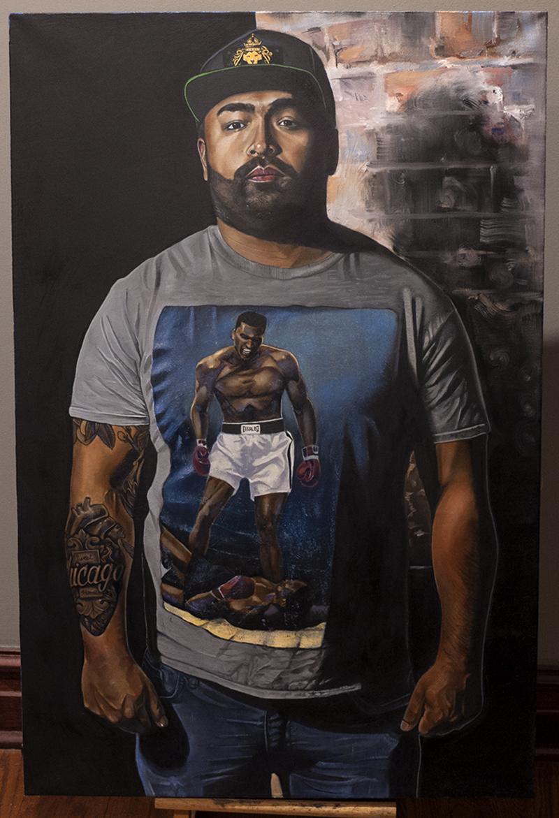 Manic Depression (Self Portrait) 2018