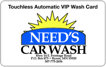 Need's Car Wash - 509 Frontage RoadByron, MN 55920507-775-2656