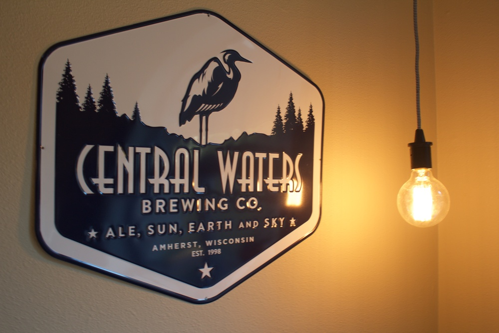Central Waters Brewery  /  Hanging light cord  /  Light bulb