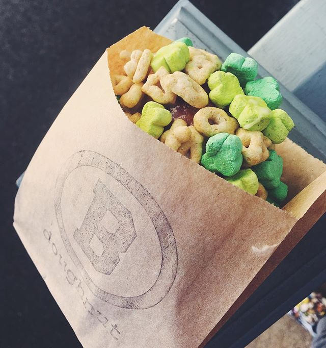 Starting Tuesday specialty flavor — Lucky Charms 🍀 • 📸: @damonn_evanss